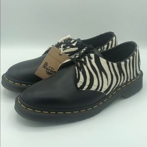 Dr Martens 1461 Zebra size 8